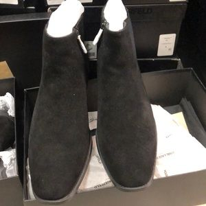 Karl Lagerfield Paris Suede Boot